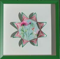Cadre fleurs par Françoise F.